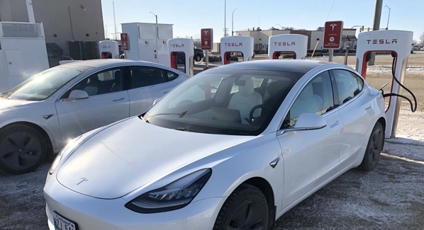 Tesla supercharger portage la prairie