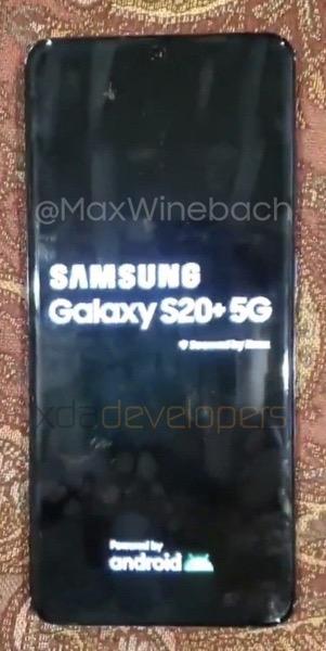 S20 5G Name