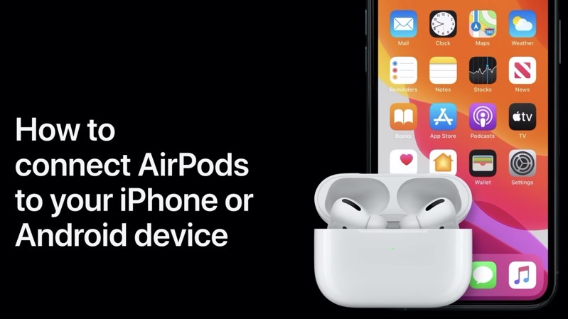 Connect airpods iphone android