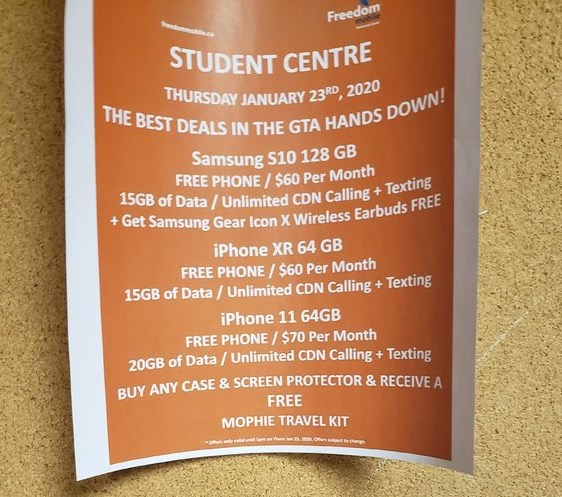 Freedom mobile u of t