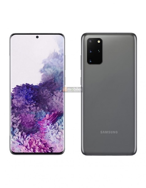 Galaxy s20 plus render leak 1