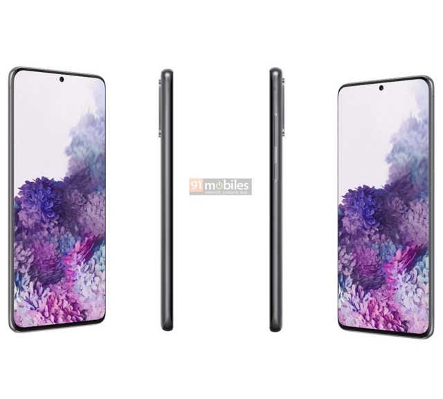 Galaxy s20 plus render leak 2