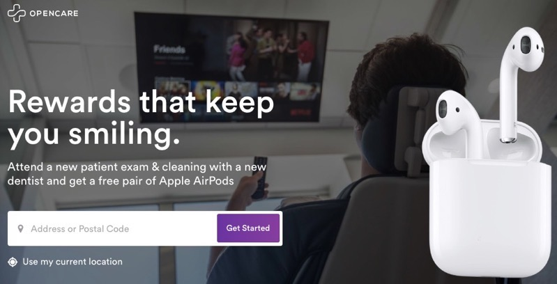 Opencare airpods