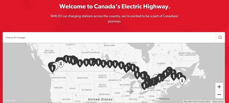 Petro canada electric chargers
