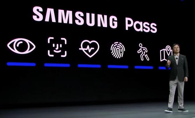 Samsung pass iic