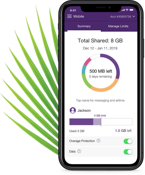 Telus data manage