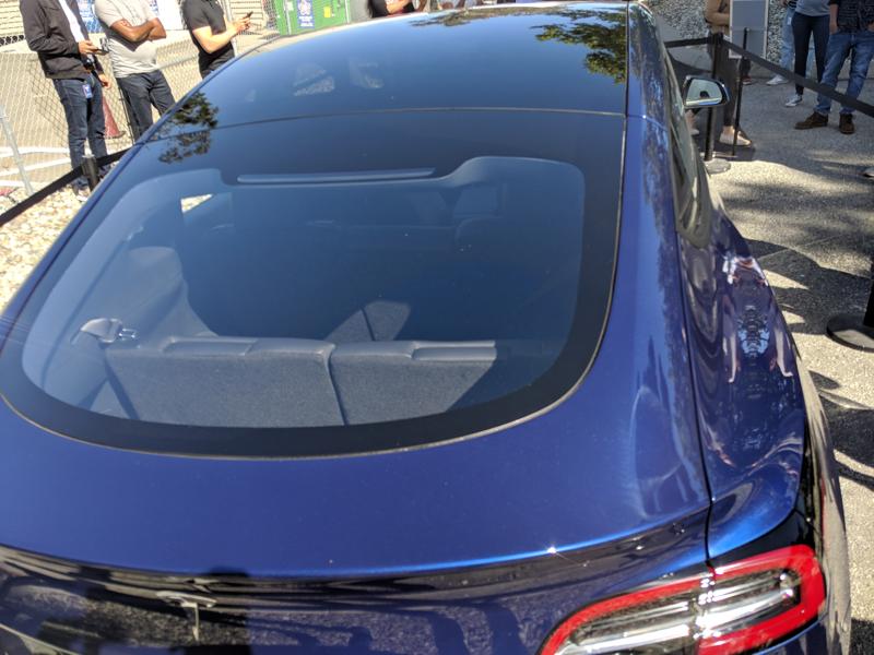 Tesla model y back seats