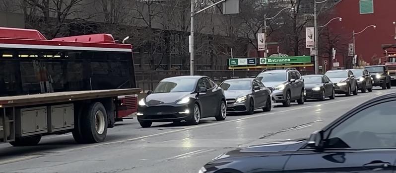 Tesla model y toronto