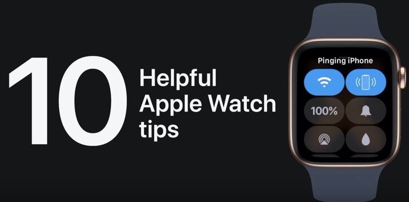 10 apple watch tips