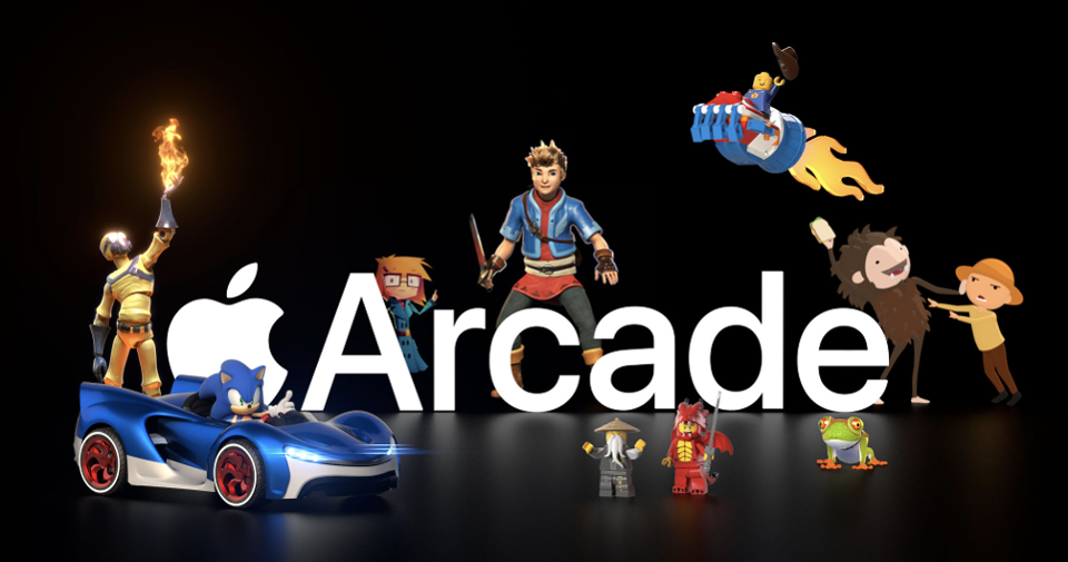 Apple Arcade is Taking Over Apple's Website After Latest Ad