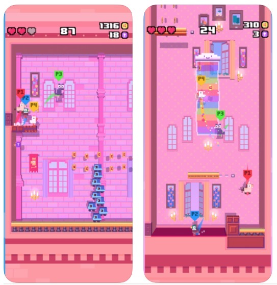 Crossy road apple arcade