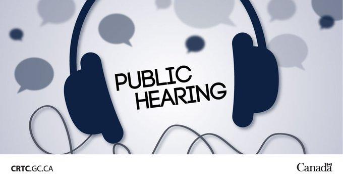Crtc public hearing wireless