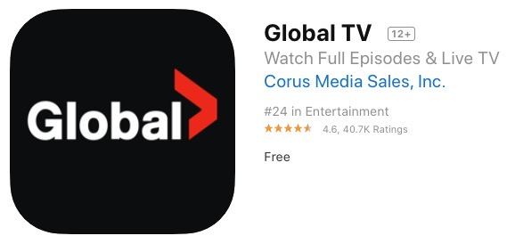Global tv new 2020 app