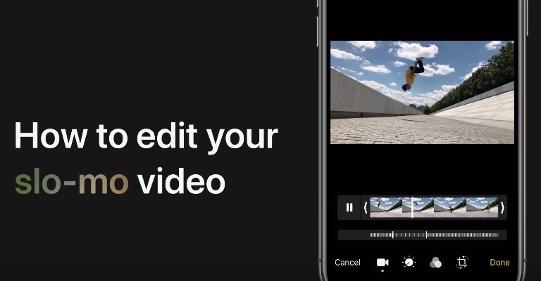 How to edit slo mo video