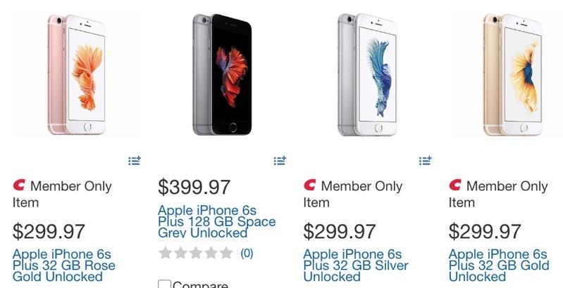 Iphone 6s plus costco