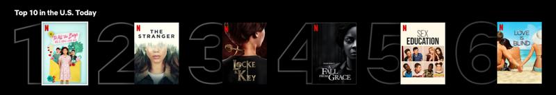 Netflix top 10 usa