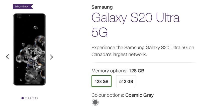 Telus samsung galaxy s20 ultra 5g pre order