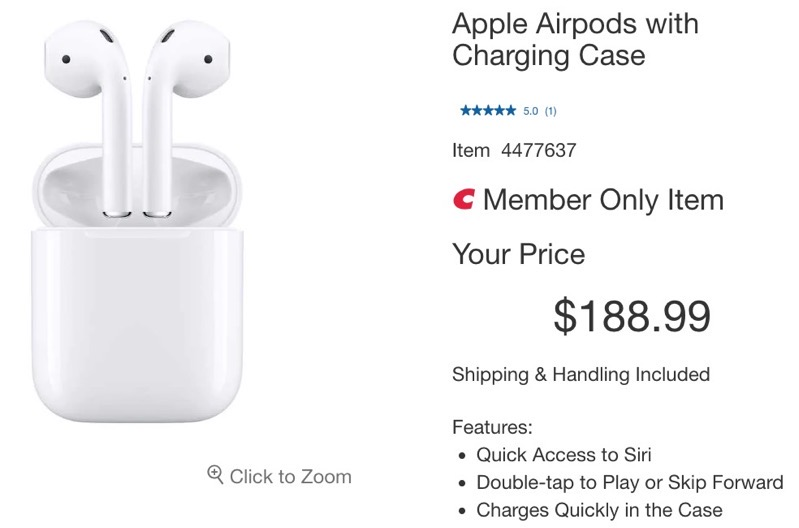 Airpods charging case online