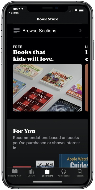 Apple books free