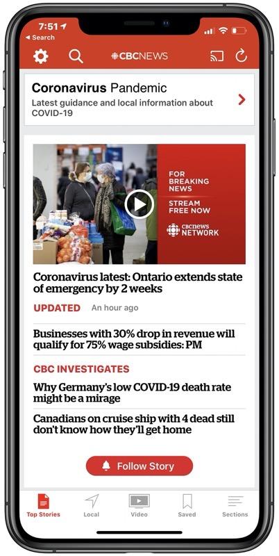 Cbc news covid 19