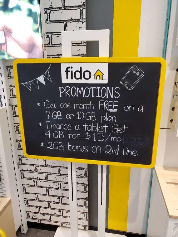 Fido 2nd line deal
