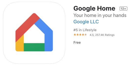 Google home ios update
