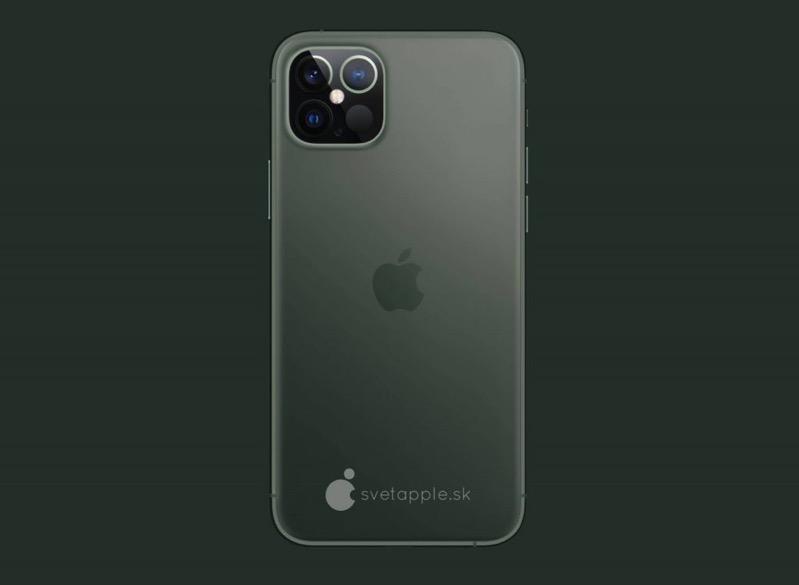 Iphone 12 midnight green