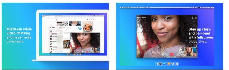 Messenger mac screenshot