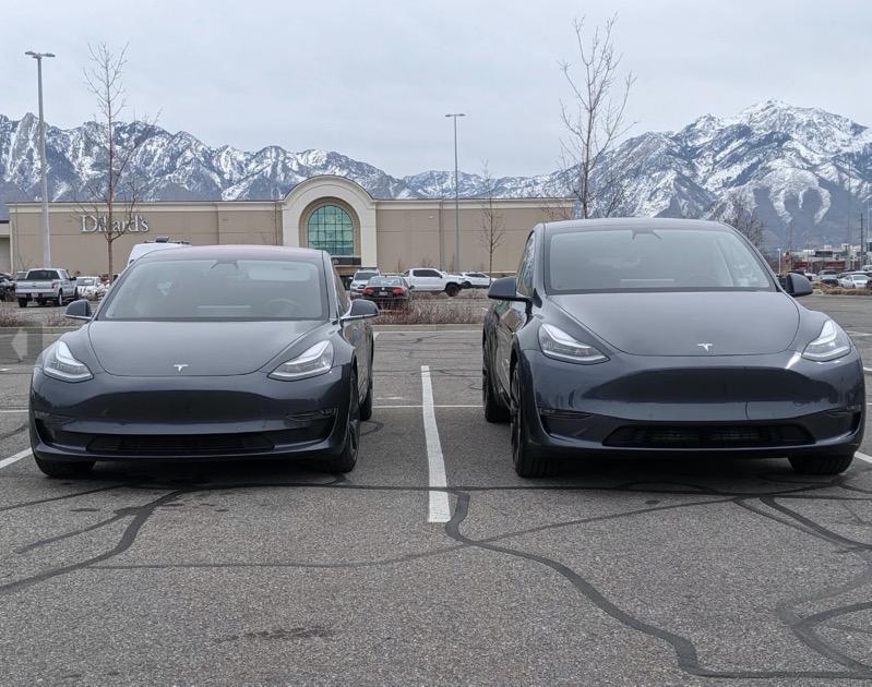Model 3 vs model y