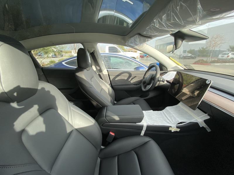 Model y front seats 2
