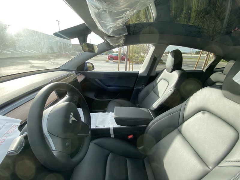 Model y front seats