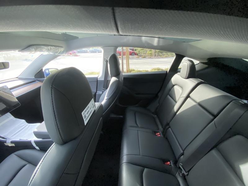 Model y rear seats 2