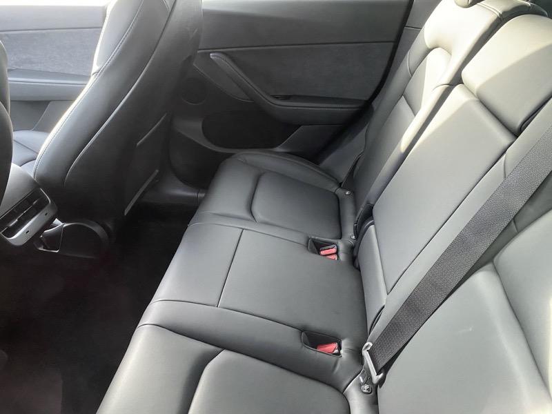 Model y rear seats