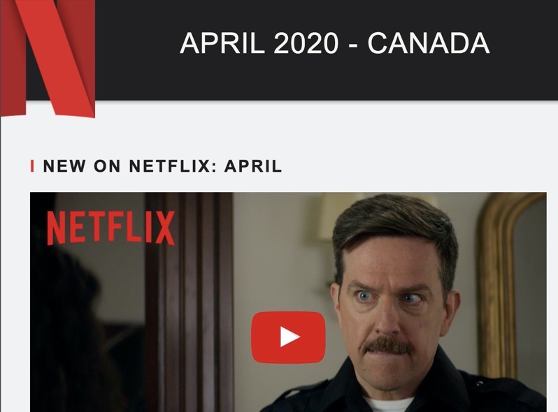 What's Coming to Netflix Canada in April 2020 [LIST]