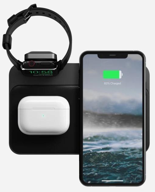 Nomad base station apple watch