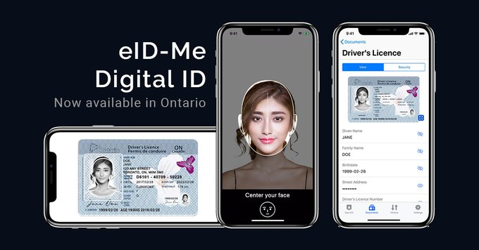 Ontario digital ID