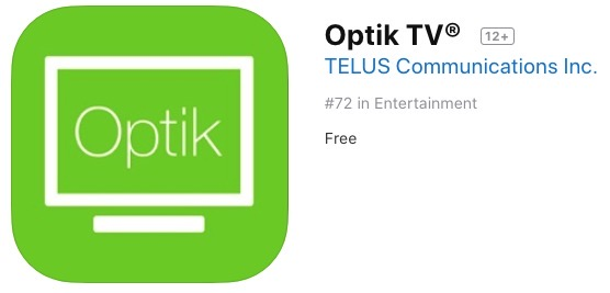 Optik tv redesign
