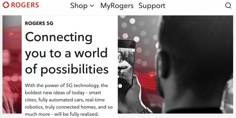 Rogers 5g network
