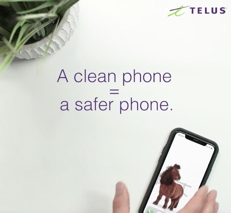 Telus clean smartphone