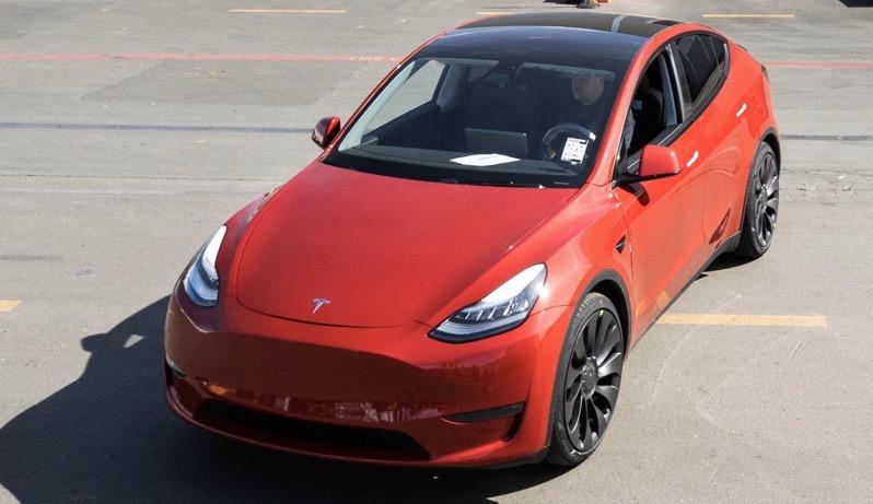 Tesla 1 million model y
