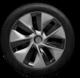 Tesla model y gemini wheel mobile app