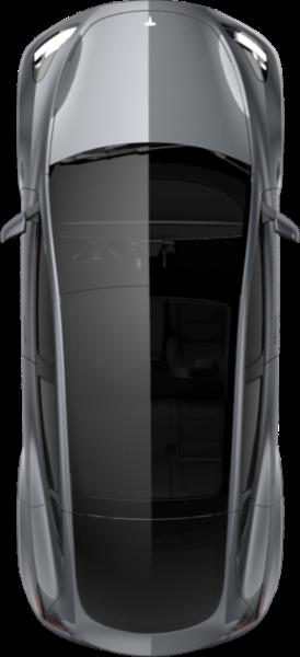 Tesla model y glass roof mobile app 276x604