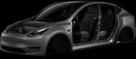 Tesla model y mobile app front