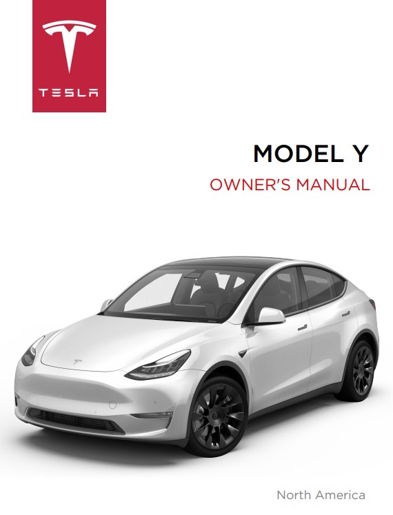 Tesla model y owner s manual download