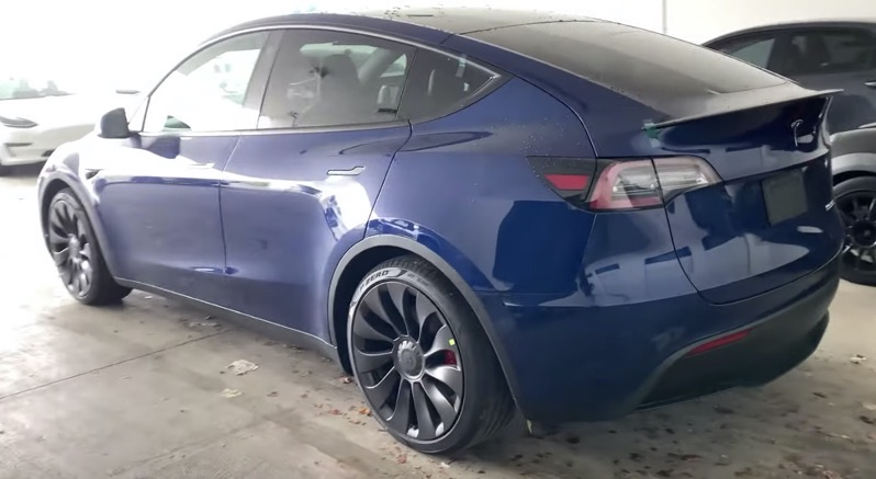 Tesla model y walkthrough