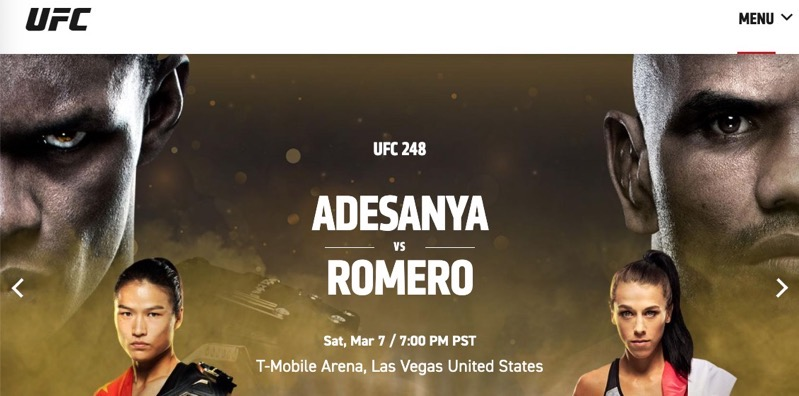 Ufc 248 watch live stream