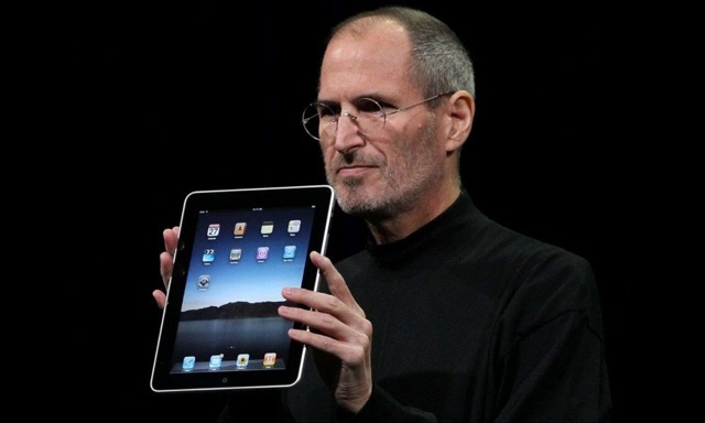 Steve Jobs Original iPad 2010