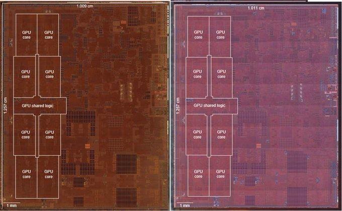 A12z bionic chip a12x