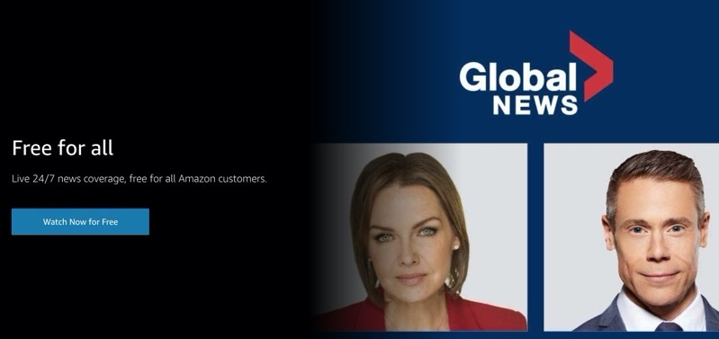 Amazon Freebies: Live Global News Channels and Children's Shows for All Customers