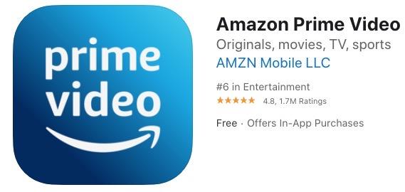 Amazon prime video app store